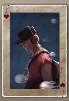TF2 Poker scout by biggreenpepper