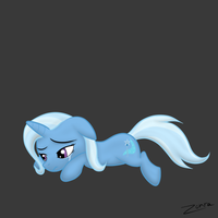 Sad Trixie by Zonra