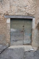 Old medieval door to MONS Village by A1Z2E3R