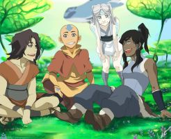 Avatar's talk- Print by CarishinLove