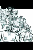 Decepticon High Command by RobotMaster