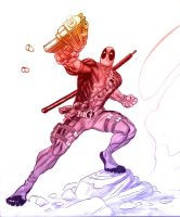 Deadpool by MicahJGunnell