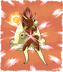 Lopunny uses Focus Punch by PlatinaSena