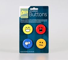 Emoticon Buttons by deviantARTGear