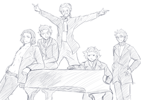 redraw: THE PIANO SQUAD by JustSomeRandomKidLol