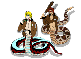 American nagas by HybridPersonality