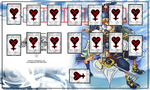 Kingdom Hearts Yugioh Playmat by Shadowlightlink
