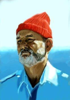 Bill Murray as Steve Zissou by ChristopherChrisps