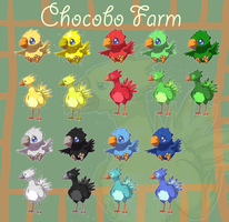 Squiby Chocobo by krokus00