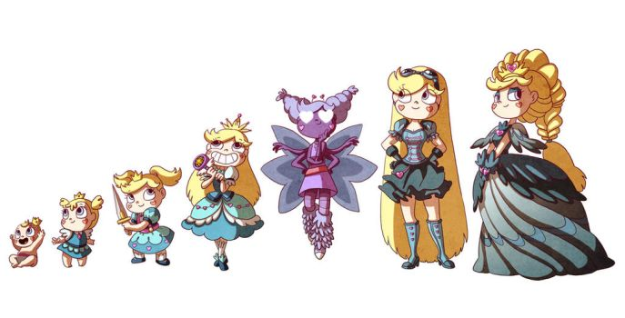 Star Butterfly's Timeline by Kikaigaku