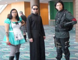 Alice from Alice,  Neo from The Matrix, unknown by trivto