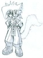 Chibi - Sky the Wolf by wolf-skyhigh