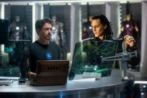 Loki In Lab With Tony--FrostIron by MischievousMonster