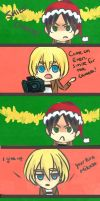 An aot Christmas by thehairypeach