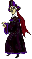 Frollo's Backing Up by yami0815