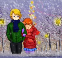 digimon - winter by Ayumi-NB