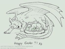 Happy Easter by Strecno