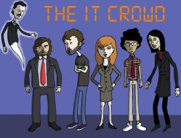 The IT Crowd by PotteringAbout