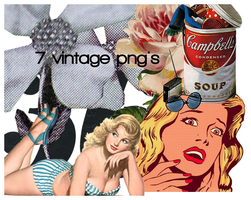 Vintage PNG's by chicaax