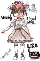 Akato=Best Maid that has ever existed by AtomicReih