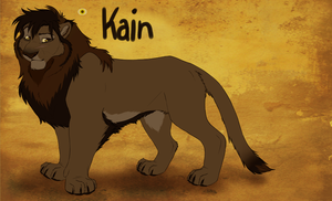 Kain Reference by NicoleSt