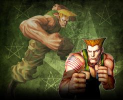 Guile Street Fighter Wallpaper by 1KamZ