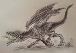 Don't mess with the baby dragon by Pencil--Pony