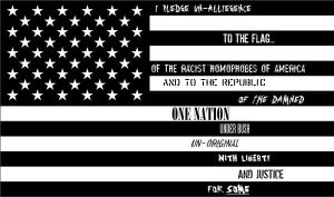 The Pledge Of Un-Alliegence by IsolatedInsomniac