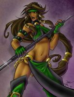 The Jade by dmvcomics