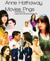 Anne Hathaway Movies Pngs by GimmeFamous