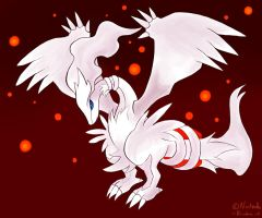 Reshiram by DragonPalu