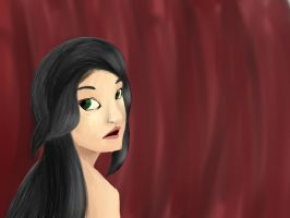 Black hair green eyes by that-duck-witha-hat