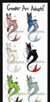Greater Arc Adopts by Rainbows-Adopts