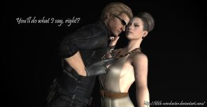 Wesker- The Manipulator by Lilith-Winchester