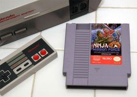 Ninja the Mission force NES by JeremyHovan81