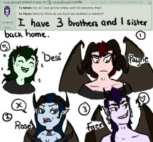 Q/A 13 - My Bros n' Hos (Wut?) by Ask-Thorn-Morph
