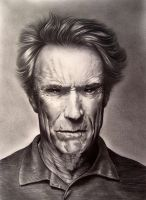 Tribute to Clint Eastwood by EnricBug by EnricBug