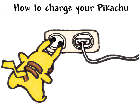 How to charge your Pikachu by TheSmilingFish