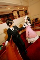 The butler and the bo.. girl. by stjh-cosplay