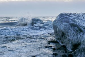 Frozen Baltic Sea 5 by BVFoto