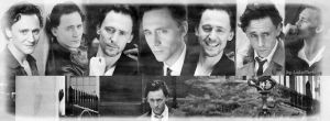 Tom Hiddleston - Black and White Facebook No.1. by LuluDarling
