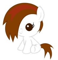 Me as a Baby Filly by Winter-218