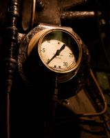 Old Dial Face by TeresaHowes