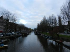 Amsterdam river by andreibsc