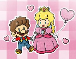 .:Love in Yarn:. by CloTheMarioLover