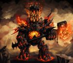 Ignis, Fire colossus by vempirick
