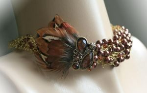 Pheasant - necklace by Bodza