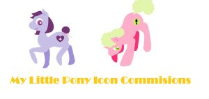 Mlp Adoptable Icon Commissions by StacheRabbit