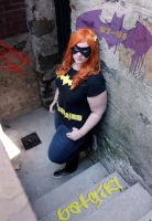 Hipster Batgirl by clumsydragon28