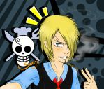 Sanji by crystal-blue-star